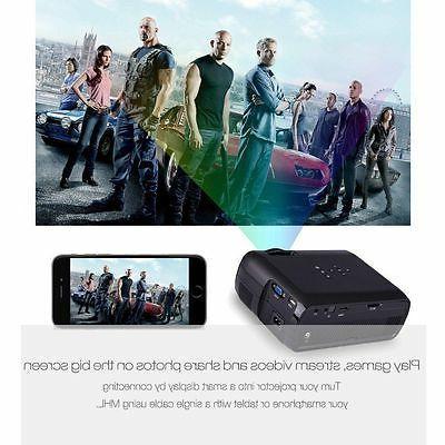 3D 1080P LED Multimedia Home Theater HDMI USB VGA SD AV