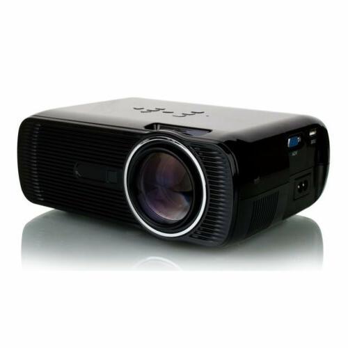 3D Projector LED LCD VGA AV