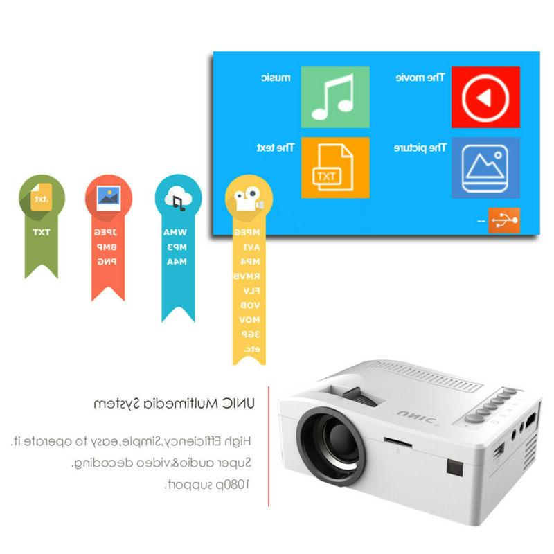 8000 Lumens 1080P Android/IOS Home