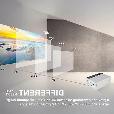 8000 Projector Video Home Theater VGA