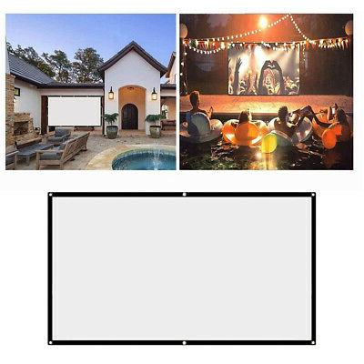 """100""""16:9 Projection Home Video Screens"""