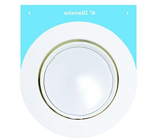 Adjustable Downlight with Dimmable Light 120V 5 YR