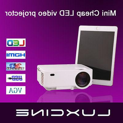 cheap led lcd 3d video projector home