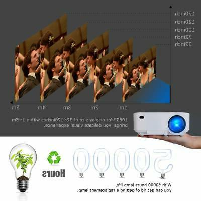 DBPOWER Mini Display 1080P Full LED Movie H...