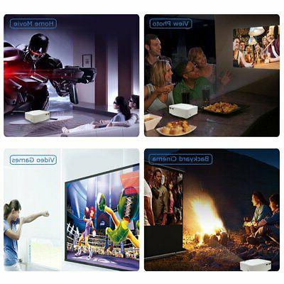 DBPOWER LED Movie Projector H...