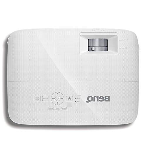 "BenQ DLP Business 3D, 10W Speaker, Control, 100"" @8.2ft, 1.3X Zoom"