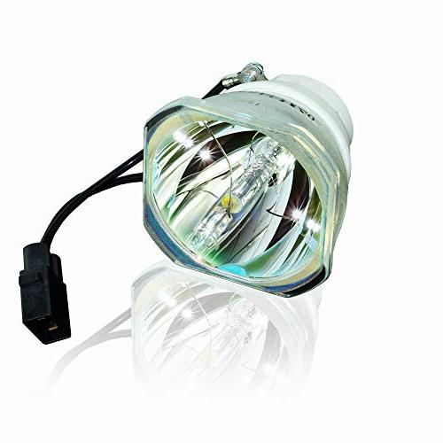 AWO Projector Bare Lamp Bulb Replacement for EPSON ELPLP89 /