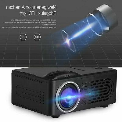 1080p HD LED Projector Smart Home Cinema 8000 Lumens