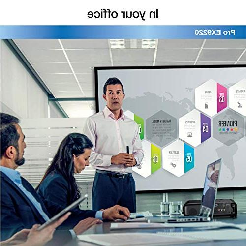 Epson Pro EX9220 1080p+ WUXGA 3,600 lumens brightness 3,600 lumens brightness wireless MHL