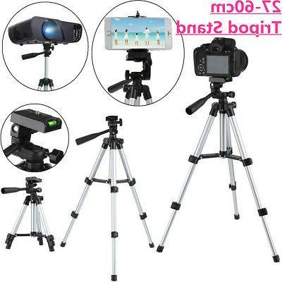 Extendable Tripod Stand Adjustable Camera Phone Mini Projector Rack Portable #