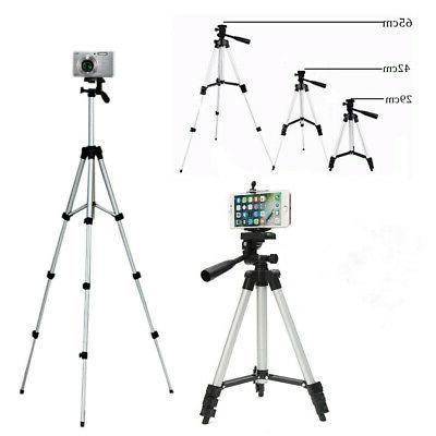Extendable Tripod Stand Adjustable Camera Projector Rack Portable #