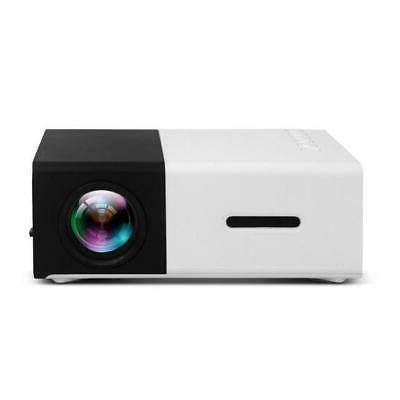 Feast™ Mini Projector 1080P Home USB HDMI Mini Portable H