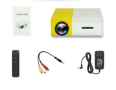 Feast™ Mini Projector 1080P USB HDMI AV Mini