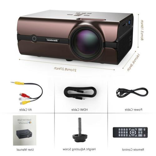 FHD WiFi Wireless LED Android BT Video