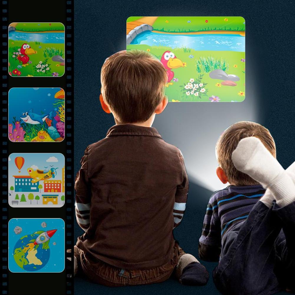 <font><b>Projector</b></font> Flashlight Bedding Developing Toy <font><b>Slide</b></font> Infants Children