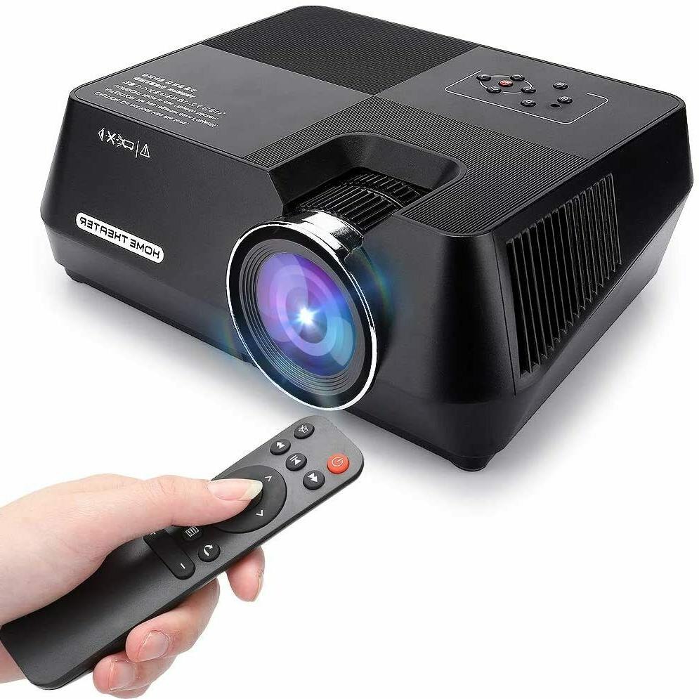 Full HD Theater Projector Cinema VGA HDMI TV