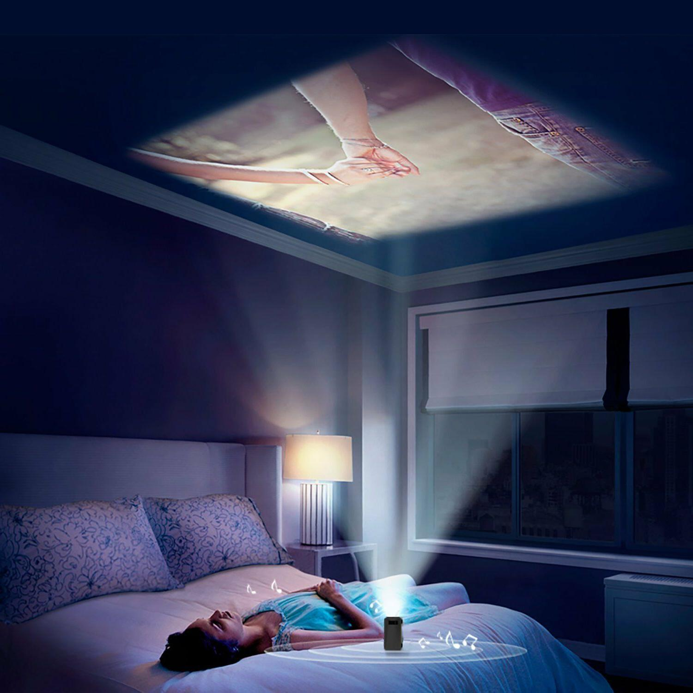 Full HD Ultra Handheld Home Cinema LED Projector w/USB/SD/AV/HDMI