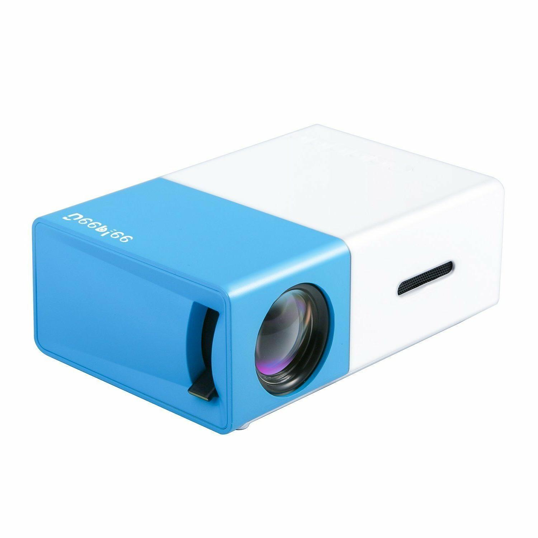 Full HD Ultra Handheld Theater LED Projector w/USB/SD/AV/HDMI