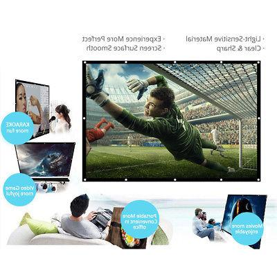H150 150'' Portable Projector Screen Video S8J1