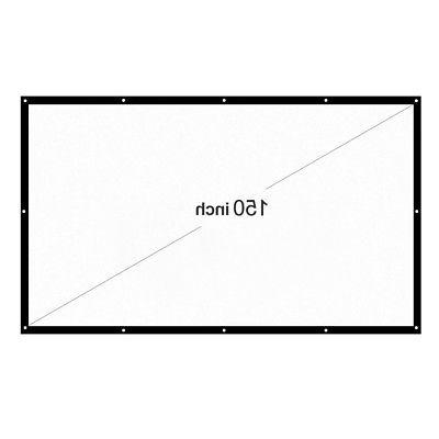 Projector Dacron 150 Inch Video Projection D3X0