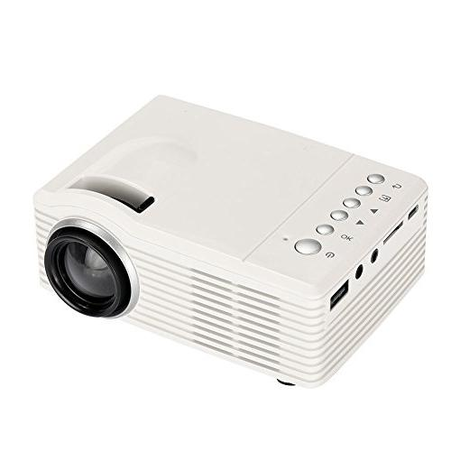 Cewaal Hanbaili Portable Video Multimedia Theater Video Projector Children Best Theater