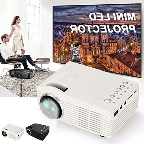 hanbaili mini portable video projector eu plug