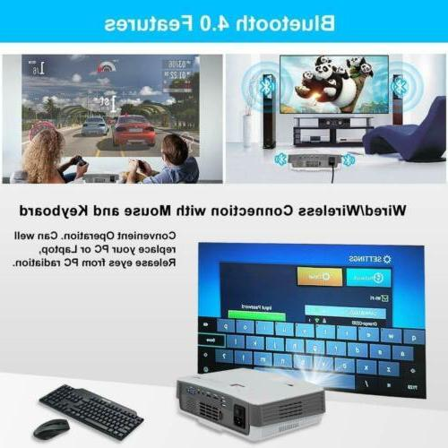 EUG HD Portable Android Wifi Home Theater