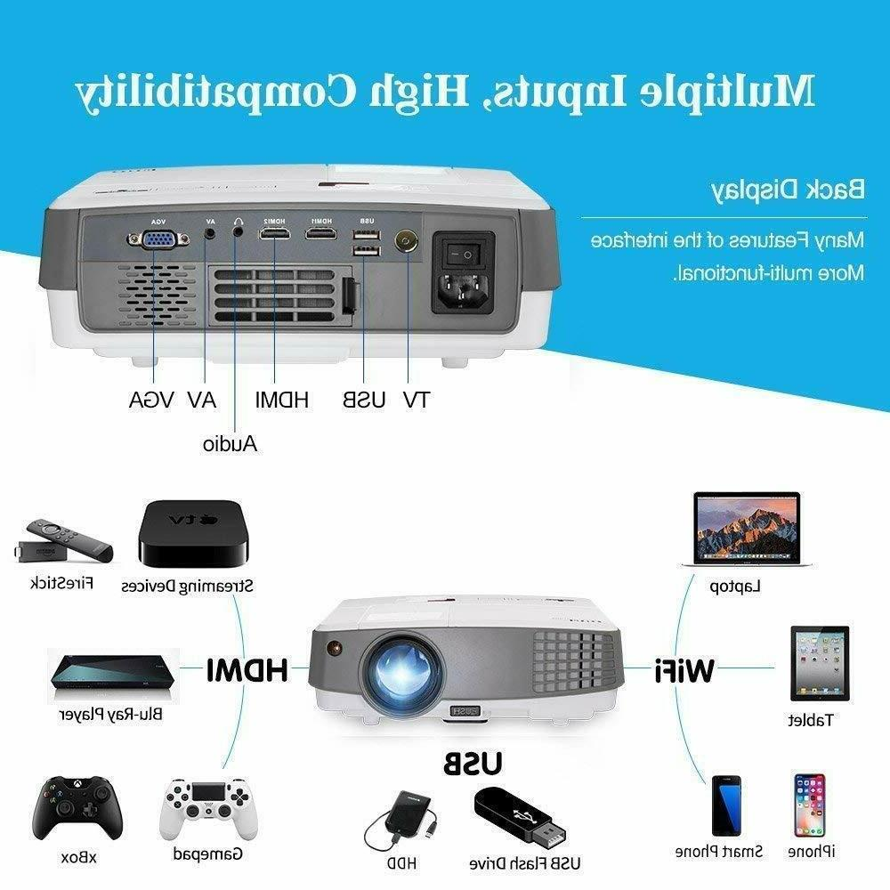 EUG HD Portable Android Smart 4000lm Wifi