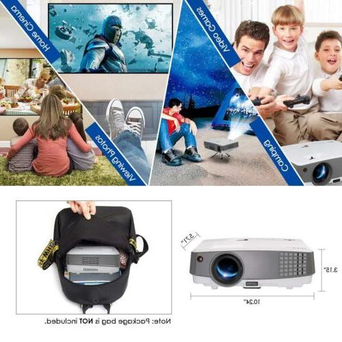 EUG HD Smart 4000lm Wifi Theater
