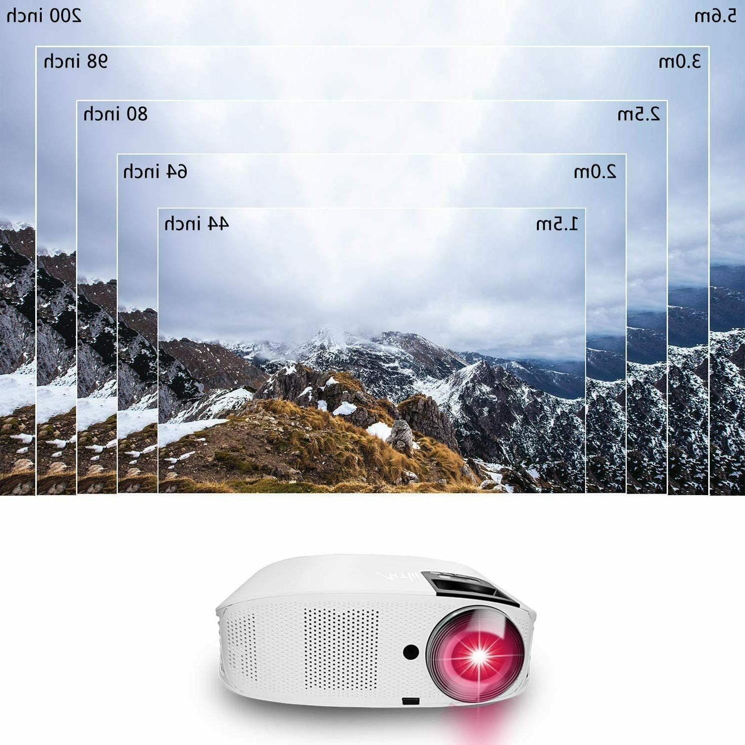 HD Projector 1080P Projector HiFi Dolby 250''