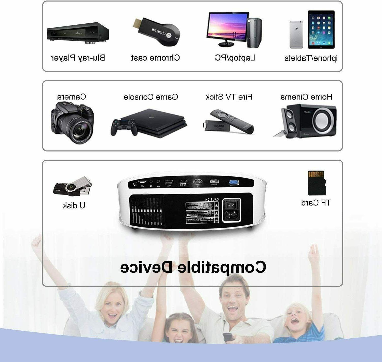 1080P Support Projector