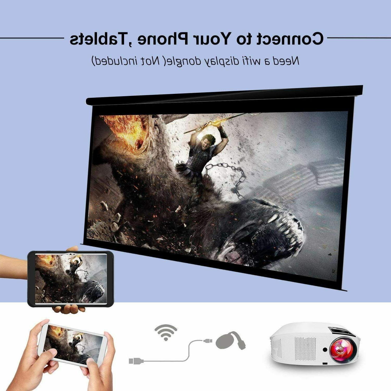 HD Projector - Artlii 1080P Projector HiFi Dolby