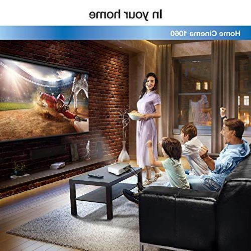 Epson Home Cinema Full HD 1080p 3,100 lumens color lumens white brightness 2x HDMI projector