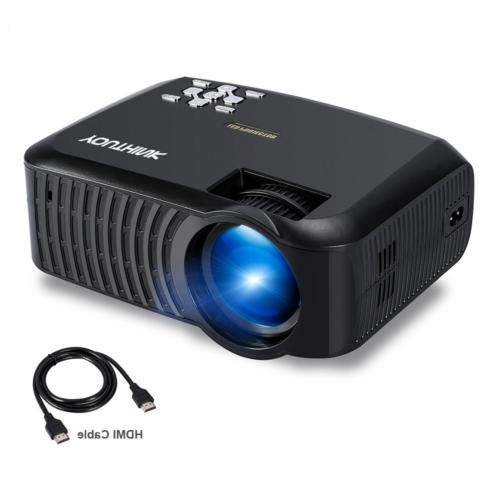 Home Projector, Fosa 2000 Lumens Portable LED Video Projecto