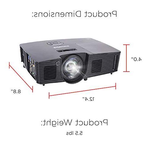 InFocus IN112XA SVGA 3800 Lumens 3D Ready Speakers