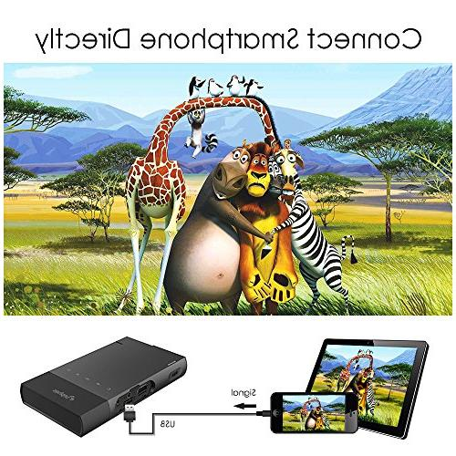 DLP iPhone, ELEPHAS Lumen Support 480P TF