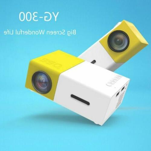 YG300 Home Theater HDMI AV SD Projector Video