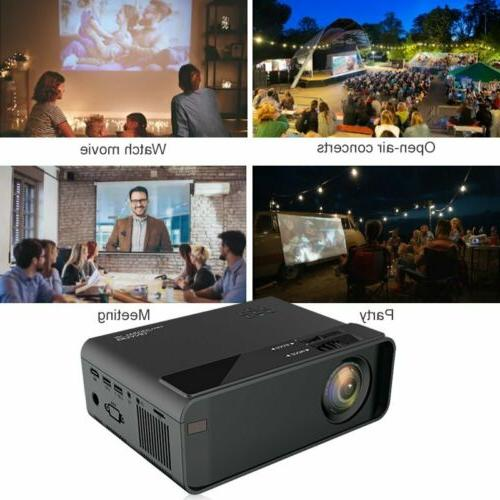 4K LED Projector BLuetooth 1080P Theater