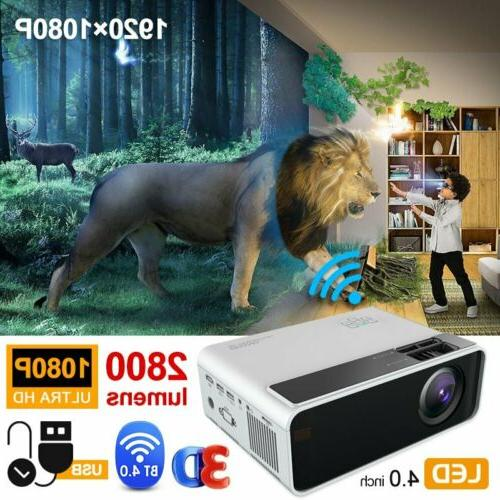1080P 4K Android 6.0 Home Theater 3000:1