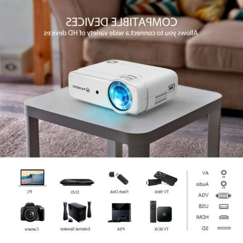 VANKYO Leisure Smart 1080P Home Theater HDMI USB