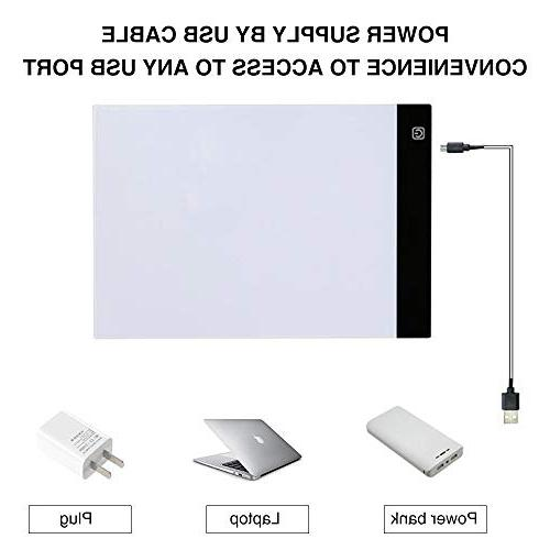 Light Pad Drawing,EUG Ultra LED USB Charge Viewing
