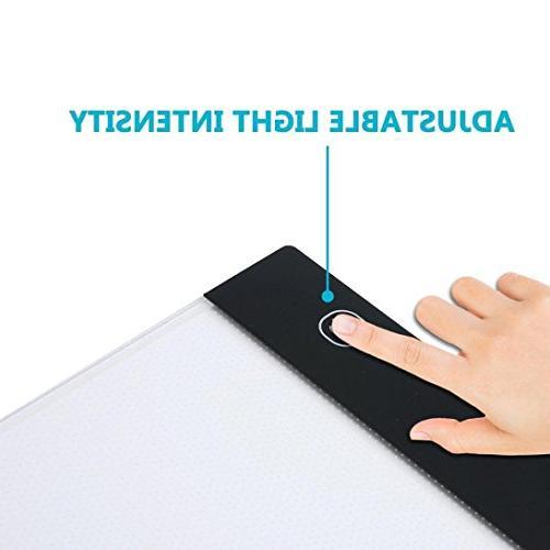 LED A4 Light Box Tracer USB Bright