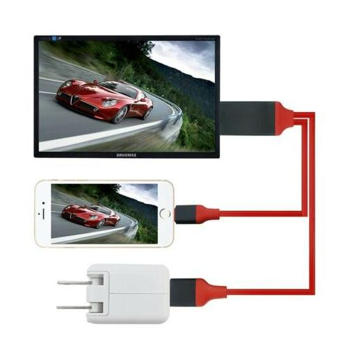 Lightning to HDMI Digital TV Cable For Apple iPad 11