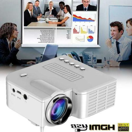 MINI 500LUMEN 3D 1080P HD LED VIDEO PROJECTOR HDMI/USB/SD/AV