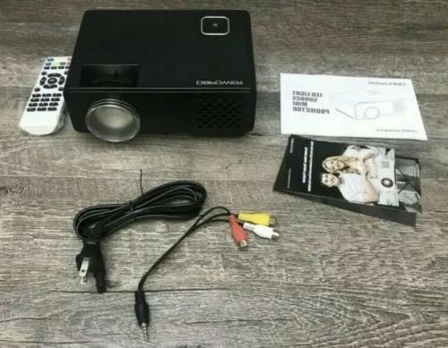 DBPOWER Projector Multimedia Home Theater Video