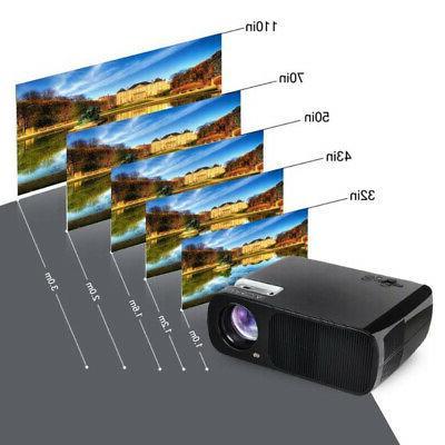Mini Home Theater FHD 3D Video