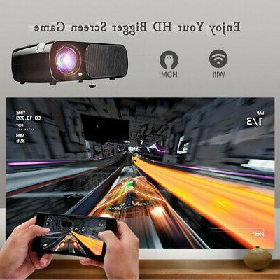 LED Projector 4K 1080P HD 3D