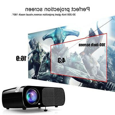 LED Smart Home Theater Projector 4K