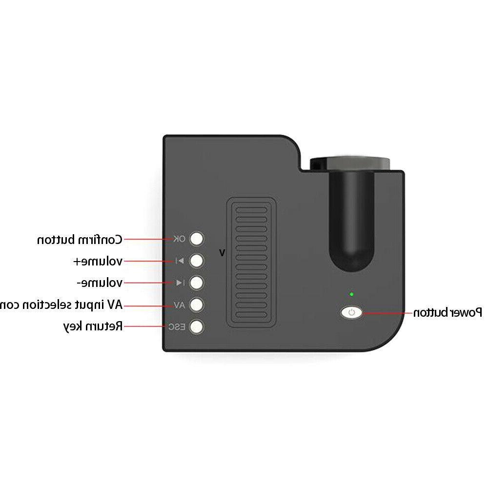 Mini Portable Micro Phone Video Home