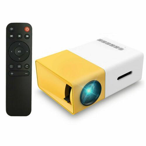 Mini Portable LED 1080P USB HD /MI AV TV VGA